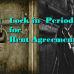 locking period for a leave and license agreement